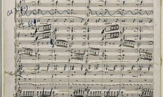 Het geveilde notenschrift van Gustav Mahler