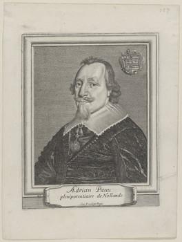 Adriaen Pauw, uit: François Bignon, les Portraits au naturel avec les armories et blasons. Paris, 1648