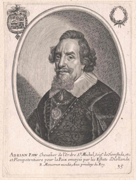 Adriaan Pauw, uitgegeven door Baltazar Moncornet, (1648/1668)