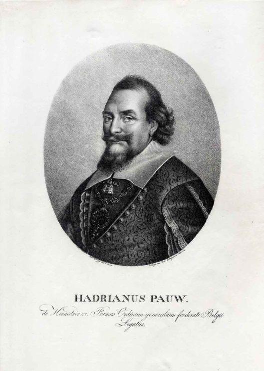 Adriaan Pauw. Litho uit 1824/1827