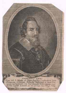 Adriaan Pauw. Kopergravure uit 1652