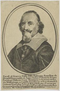 Adriaen Pauw door Peter Aubry, tussen 1648 en 1666 vervaardigd