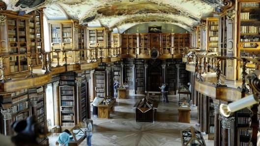 Kloosterbibliotheek Sankt Gallen