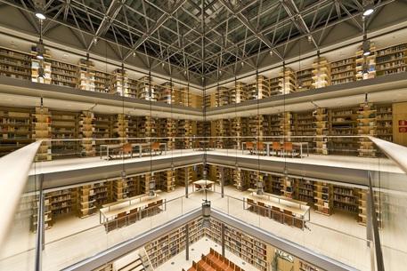 La Biblioteca universitaria centrale (Buc) di Trento progettata da Renzo Piano