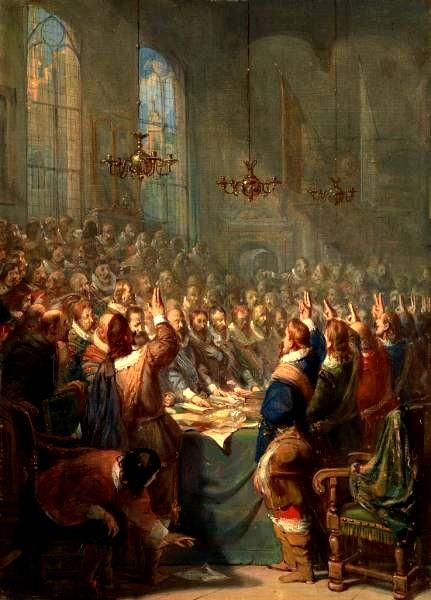 Nog een schilderij van de Vrede van Munster