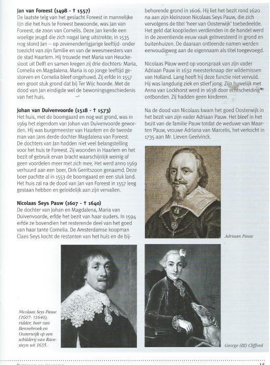 Uit publicatie 'Oosterwijk' door M.Tuin