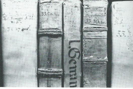 Boeken van Pauw in Wolfenbüttel (M.Keblusek)