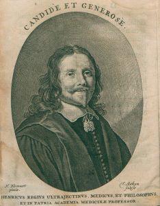 Portret van Henricus Reneri (1593-1639), in zijn Amsterdamse tijd leermeester van de oudste zoon van Adriaan Pauw en van enkele andere kinderen van Amsterdamse regenten.
