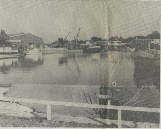 Aan de haven van Heemstede
