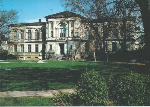 De Herzog August Bibliothek van Wolfenbüttel, gebouwd tussen 1182 en 1886