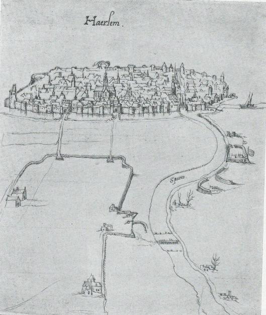Prent van Carnelis van Kittensteyn naar Pieter Jz. Saenredam, 1626