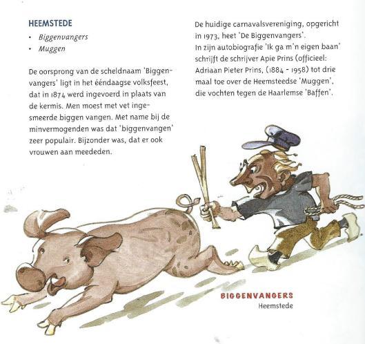 Heemstede, in: Scimpnamen van Noord-Holland; door Dirk van der Heide en illustraties van Jan Woldring. (Profiel uitgeverij, 2002)