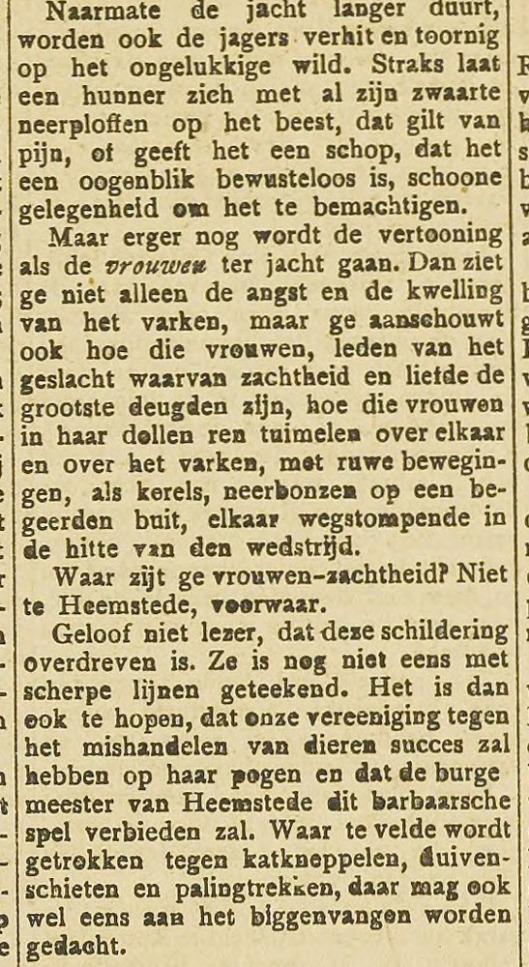 Biggenvangen. Uit Haarlem's Dagblad van 30-9-1892