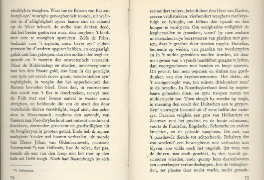 De slag aan het Manpad beschreven door P.C.Hooft (1)