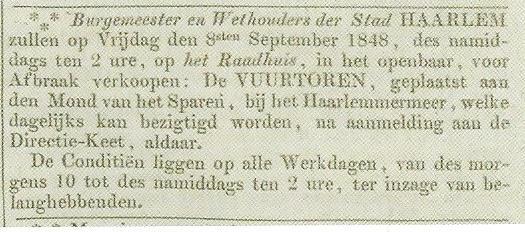 vuurbaakadvertentie8september1848